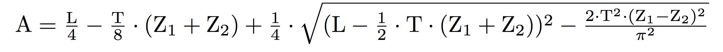 Formel zur Berechnung des Achsabstands