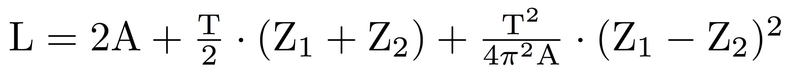 Formel zur Berechnung der Zahnriemenlänge