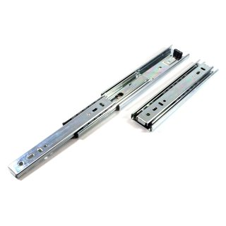Telescopic rail H=45mm up to 50kg