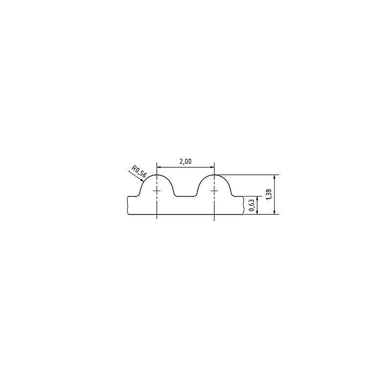 """45cm Sägenspezi Führungsschiene Drive 3//8/"""" 68TG 1,5mm passend für Makita DCS7900"""